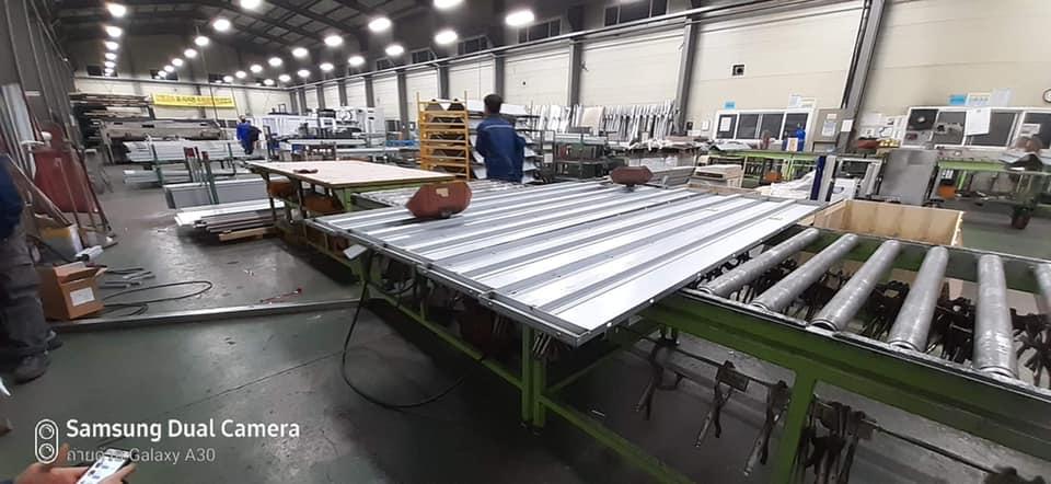 รีวิวงานโรงงานอุตสาหกรรม (ผลิตประตูลิฟต์)