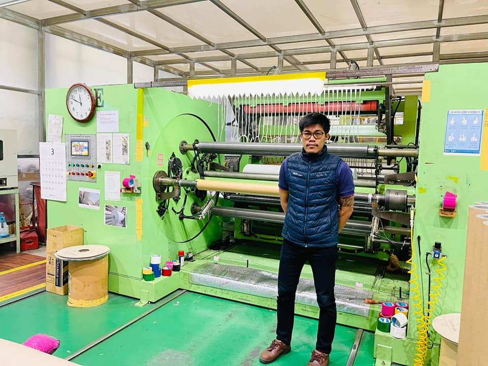 รีวิวงานโรงงานอุตสาหกรรมผลิตวอลล์เปเปอร์