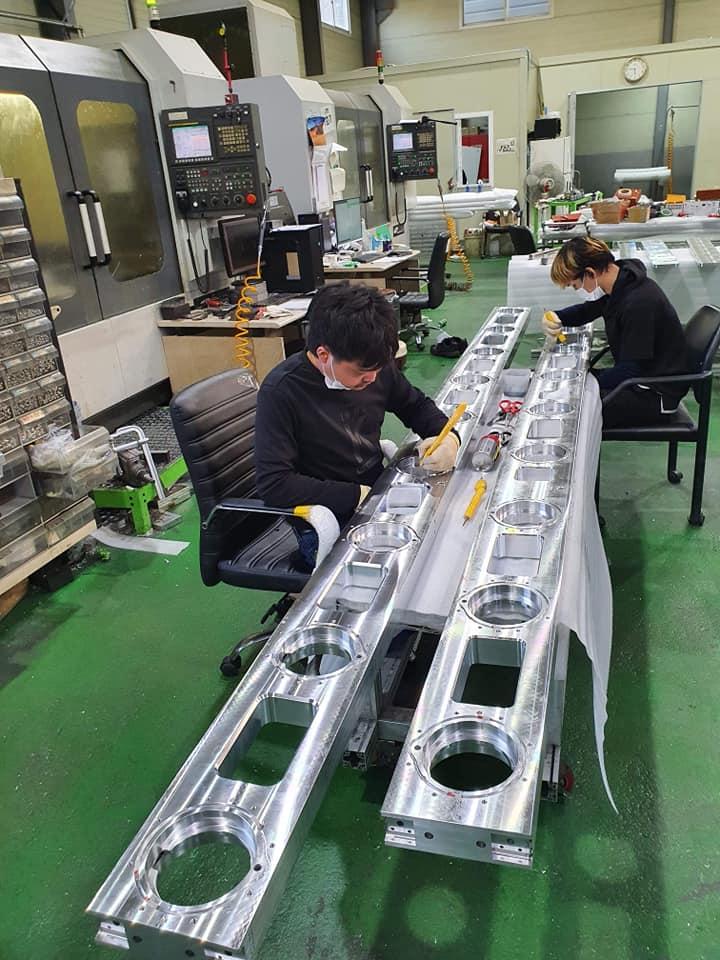 รีวิวงานโรงงานอุตสาหกรรม ขึ้นรูปชิ้นส่วนอลูมิเนียม